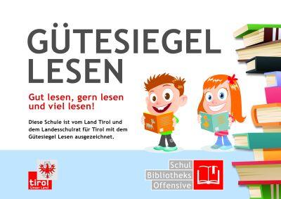 "VolksschuleAbsam EICHAT ist ""LESESCHULE"""